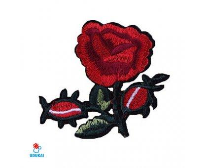 Antsiuvas Rožė-2, 7x8cm
