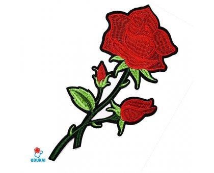 Antsiuvas Rožė-3, 14x7cm