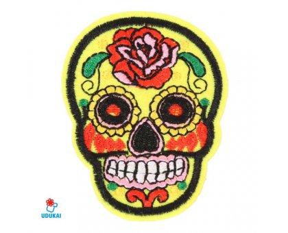 Antsiuvas Skull-6; 7.5x5.5cm