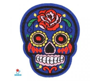 Antsiuvas Skull-7; 7.5x5.5cm