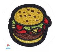 Antsiuvas Hamburger, 5x5cm