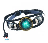 Apyrankė zodiako ženklas Žuvys-Pisces-S; universalaus dydžio