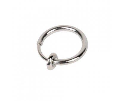 Netikras auskaras Silver Ring; 1 vnt