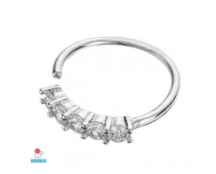 Auskaras Bombay Silver; 1vnt