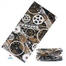 Skarelė bandana kaklaskarė-B17; universalaus dydžio
