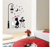 Sieniniai lipdukai Katinai