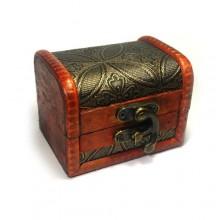 Papuošalų dėžutė Vintage-341; 9x7cm