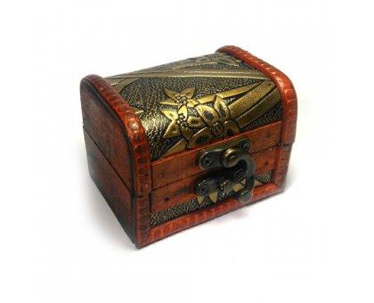 Papuošalų dėžutė Vintage-342; 9x7cm