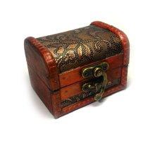 Papuošalų dėžutė Vintage-343; 9x7cm