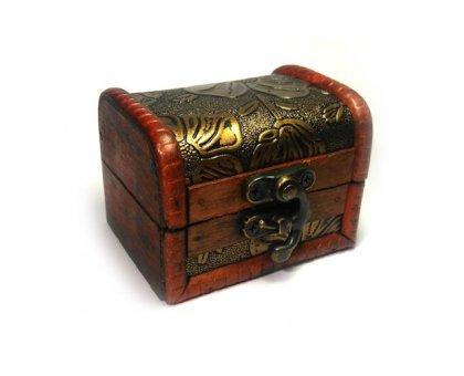 Papuošalų dėžutė Vintage-344; 9x7cm