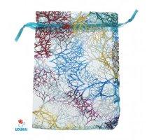 Dovanų maišelis Melynas koralas; 9x12cm