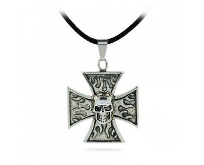Kaklo Pakabukas Likimo Kryžius; 25x25mm