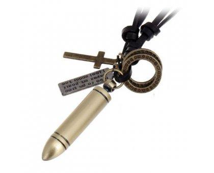 Kaklo pakabukas Warrior; 50x10mm