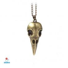 Kaklo pakabukas Animal Skull Bronzinis; 50x25mm