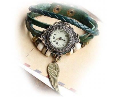 Laikrodis apyrankė Sparnas; kvarcinis