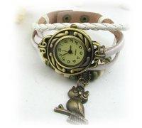 Laikrodis - apyrankė Balta Pėlėda