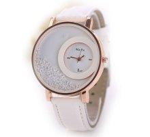 Laikrodis Crystal White