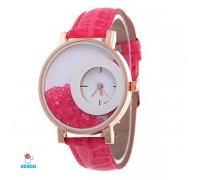 Laikrodis Crystal Pink