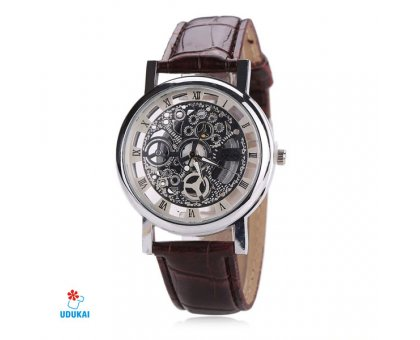 Laikrodis Skeleton McyKcy Silver; kvarcinis