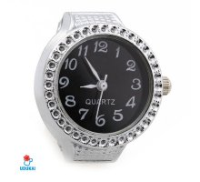Laikrodis žiedas Bozhi; kvarcinis