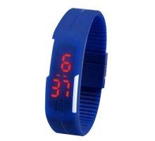 Sportinis laikrodis LED White Blue
