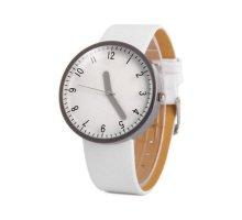 Laikrodis Round White; kvarcinis