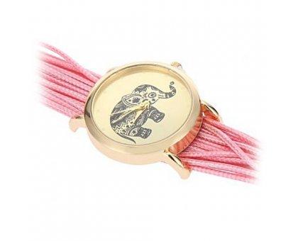 Laikrodis Rožinis Drambliukas