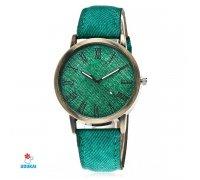 Laikrodis Jeans Green; kvarcinis
