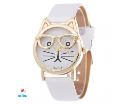 Laikrodis Kitty White