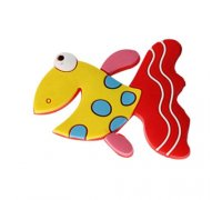 Magnetukas Žuvytė 3D; 5x4.5cm