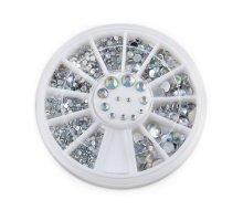 Kristalai nagų puošybai Shine; 1-5mm