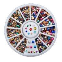 Kristalai nagų puošybai East Colours; 1-4mm
