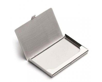 Dėkliukas vizitinėms kortelėms Steel; 93x62x7mm