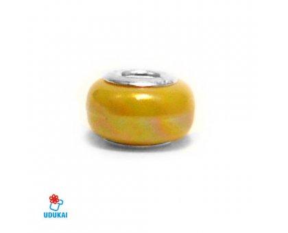 Karoliukas akrilinis Color 050; 4.5/12mm