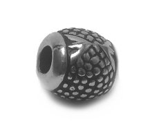 Karoliukas akrilinis Silver-B2661; 4.5/11mm