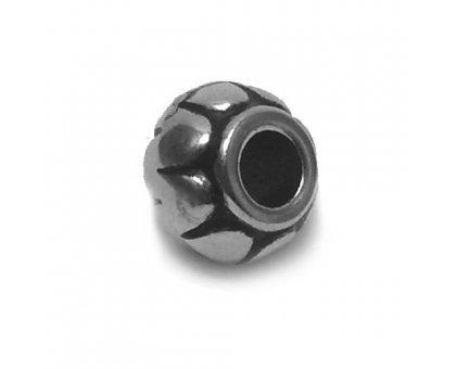 Karoliukas akrilinis Silver-B2664; 4.5/11mm