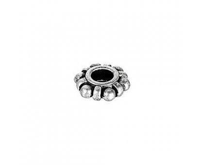 Karoliukas metalinis Žiedas