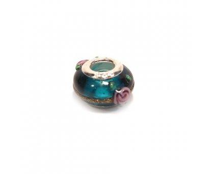 Karoliukas stiklinis Color 054