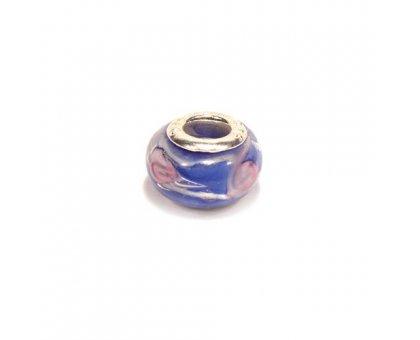 Karoliukas stiklinis Color 085
