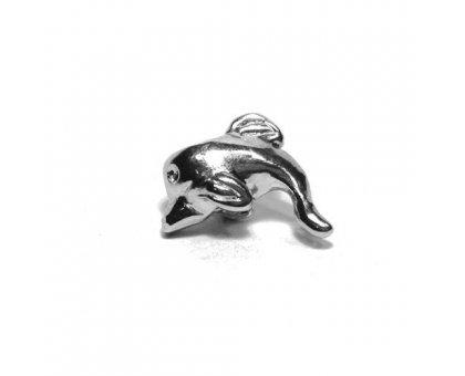 Karoliukas metalinis Delfinas