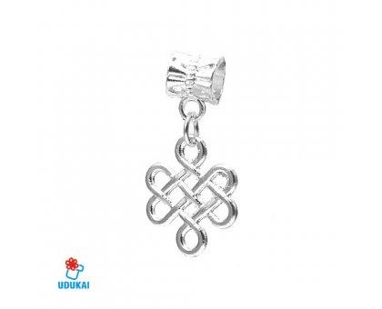 Karoliukas metalinis Ornamentas