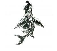 Laikina tatuiruotė Undinė 83009; 10x6cm