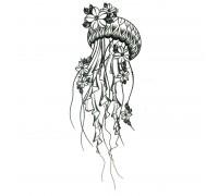 Laikina tatuiruotė Medūza 83016; 10x6cm
