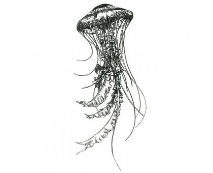 Laikina tatuiruotė Medūza 83054; 10x6cm