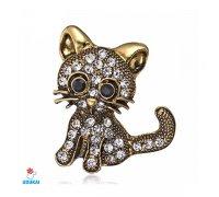 Segė Kačiukas bronzos spalvos
