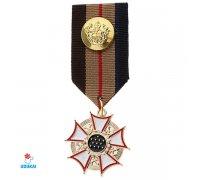 Prisegamas ženkliukas-medalis Kryžius-253