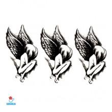 Laikina tatuiruotė Angelai-SYA082; 10x6cm