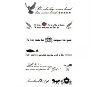 Laikina tatuiruotė Text