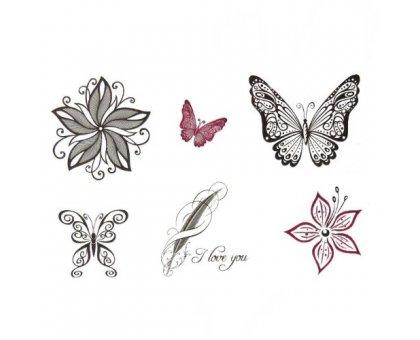 Laikina tatuiruotė Ornamentas 145