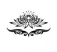 Laikina tatuiruotė Ornamentas 147
